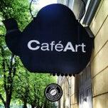 Photo taken at CaféArt by Jani L. on 6/22/2012