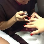 Photo taken at Glam Nails by TsAi R. on 6/7/2012