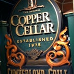 Photo taken at The Original Copper Cellar by Eric L. on 2/14/2012
