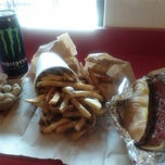 Photo taken at Five Guys by marcus t. on 5/23/2012