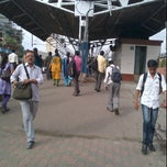 Photo taken at Lower Parel Railway Station by yogesh S. on 6/29/2012