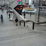 Photo taken at London 2012 OMEGA Countdown Clock by Nasos E. on 2/12/2012