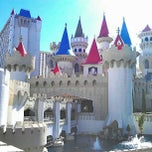 Photo taken at Excalibur Hotel & Casino by CMoore E. on 8/28/2012