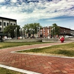 Photo taken at Ellis Square by Trent K. on 4/21/2012