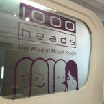 Photo taken at 1000heads HQ by Akshay P. on 5/17/2012