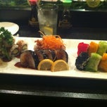 Photo taken at Rise Sushi Lounge by dionne g. on 2/18/2012