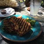 Photo taken at Ashker's Cafe & Juice Bar by Leandra C. on 6/23/2012