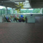 Photo taken at Southern Avenue Metro Station by Ellroy M. on 5/2/2012