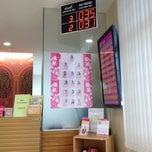 Photo taken at ธนาคารออมสิน สาขาจันทบุรี by A😜R😝T C. on 6/8/2012