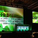 Photo taken at TechCrunch Disrupt NYC 2012 by Neil C. on 5/21/2012