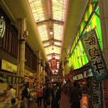 Photo taken at 金沢の台所 近江町市場 (Omi-cho Market) by Fumihiro I. on 4/21/2012