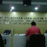Photo taken at Direktorat Jenderal Administrasi Hukum Umum by Gabriella D. on 7/25/2012