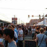 Photo taken at Night Market Washington Avenue by Erik S. on 6/28/2012