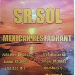 Photo taken at Sr. Sol Mexican Restaurant by Jason B. on 4/27/2012