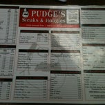 Photo taken at Pudge's Steaks and Hoagies by Adam D. on 4/28/2012