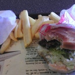 Photo taken at Fatburger by mrs c. on 8/25/2012