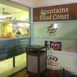 Photo taken at Fountains food court by Alex Z. on 3/29/2012