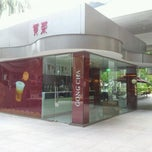 Photo taken at Gong Cha 贡茶 by Angel C. on 2/13/2012