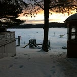 Photo taken at Little Hawk Resort & Marina by Sarah H. on 2/20/2012