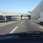 Photo taken at Autopista Vespucio Sur by Robert L. on 6/4/2012