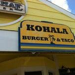Photo taken at Kohala Burger & Taco by Karen F. on 2/11/2012