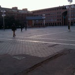 Photo taken at Plaza de la Remonta by Miguel C. on 2/9/2012