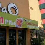 Photo taken at Pita Q by Brian M. on 4/13/2012