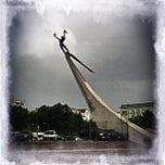 Photo taken at Expo Georgia   ექსპო ჯორჯია by Babak F. on 5/31/2012