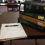 Photo taken at McIntyre Library by Gabby on 6/8/2012