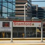 Photo taken at Stamford Transportation Center Bus/Train (STM) Metro North & Amtrak by Steve S. on 5/19/2012