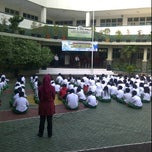 Photo taken at Sekolah Al-Azhar BSD by Wiza B. on 5/9/2012