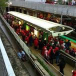 Photo taken at MetroLink - Stadium Station by Ralph J. on 4/14/2012