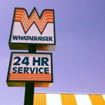Photo taken at Whataburger by Mike R. on 4/18/2012