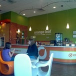 Photo taken at Orange Leaf by Miranda M. on 4/19/2012