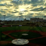 Photo taken at Hawks Field at Haymarket Park by Jordan J. on 3/18/2012