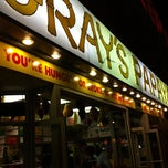 Photo taken at Gray's Papaya by Gaetan P. on 7/18/2012