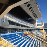Photo taken at Estadio Ramón de Carranza by avelino r. on 7/14/2012