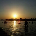 Photo taken at Ada Ciganlija by Violeta B. on 8/23/2012