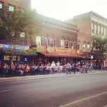 Photo taken at Downtown Ithaca by Alexandra L. on 4/20/2012