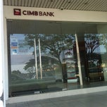 Photo taken at CIMB Bank by cielo Y. on 5/22/2012