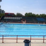 Photo taken at Polisport Stadio del Nuoto by Chiara C. on 6/25/2012