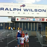 Photo taken at Ralph Wilson Stadium by Bryan L. on 8/25/2012