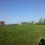 Photo taken at Icard Elementary School Track by Cameron S. on 3/26/2012
