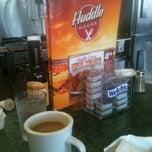 Photo taken at Huddle House by Sara B. on 5/1/2012