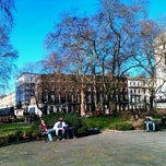 Photo taken at Bloomsbury Square by Ric T. on 2/23/2012