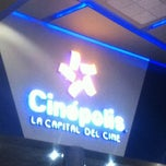 Photo taken at Cinepolis by Abraham A. on 7/21/2012