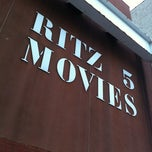 Photo taken at Ritz 5 Movies by R. Eric T. on 3/25/2012