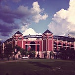Photo taken at Rangers Ballpark in Arlington by Brandon E. on 7/15/2012