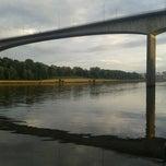 Photo taken at Redheugh Bridge by Liberty S. on 8/5/2012
