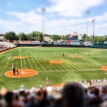 Photo taken at Disch-Falk Field by Caleb M. on 5/19/2012